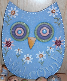 #8120 Welcome Owl